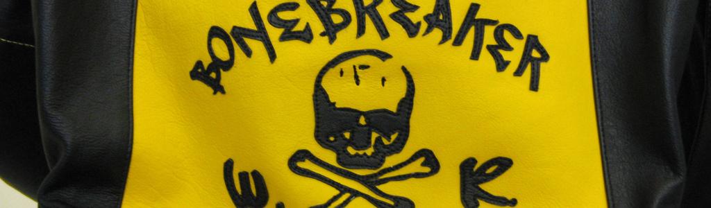 Logo`s auf Lederkombis aller Hersteller